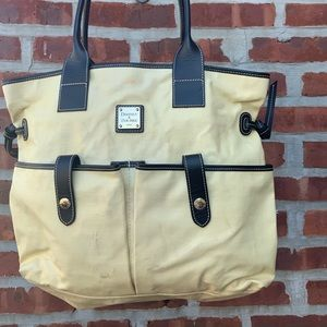 Dooney&Burke Tote needs new home. Priced as such